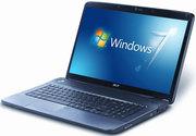 Ноутбук Acer Asphire 7540G + сумка