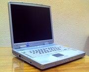 Ноутбук GERICOM Masterpiece 2540XL + Принтер HP DJ 710s