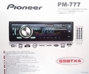 Автомагнитола Pioneer PM-777. . USB,  SD-карты. Гарантия. Чек.