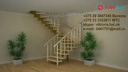 Модульная межэтажная лестница в Бресте