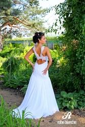 Элегантное  свадебное платье коллекция весна 2014