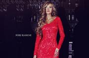 Кружевное вечернее платье коллекция 2014