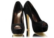 Туфли на платформе 37 размер черные НОВЫЕ
