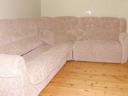угловой диван с креслом б/у