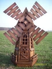 декоративные изделия из дерева для ландшафтного дизайна