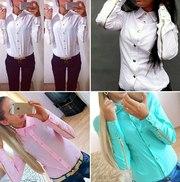 Продам блузку новую бирюзовую