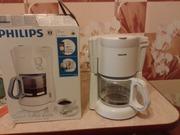 Кофеварка Филипс новая