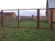 Ворота и калитки недорого с доставкой бесплатной