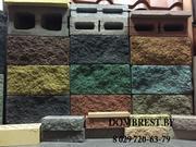 Блоки демлер в Бресте,  декоративные блоки под рваный камень