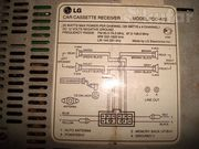 автомагнитола LG-TCC-672 касетная