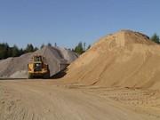 гравий,  песок,  щебень,  камень, чернозем, подсыпка