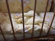 Матрас детский + подушка,  одеяло +пост. белье +бортики