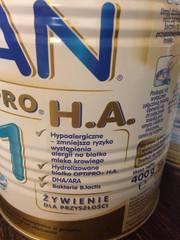 NAN HA нан гипоаллергенный