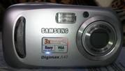 Цифровой фотоаппарат Samsung Digimax A40 (б/у)